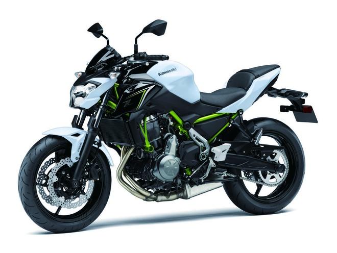 Kawasaki trinh lang Z650 2017 - naked bike tam trung moi hinh anh