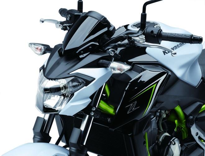 Kawasaki trinh lang Z650 2017 - naked bike tam trung moi hinh anh 5