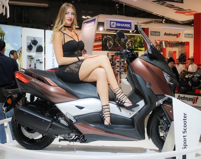 Xe tay ga Yamaha 300 phan khoi co the phan phoi tai Viet Nam hinh anh
