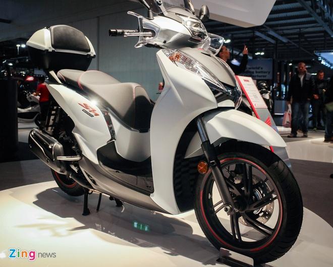 Honda SH 300i 2017 them mau the thao hinh anh 3