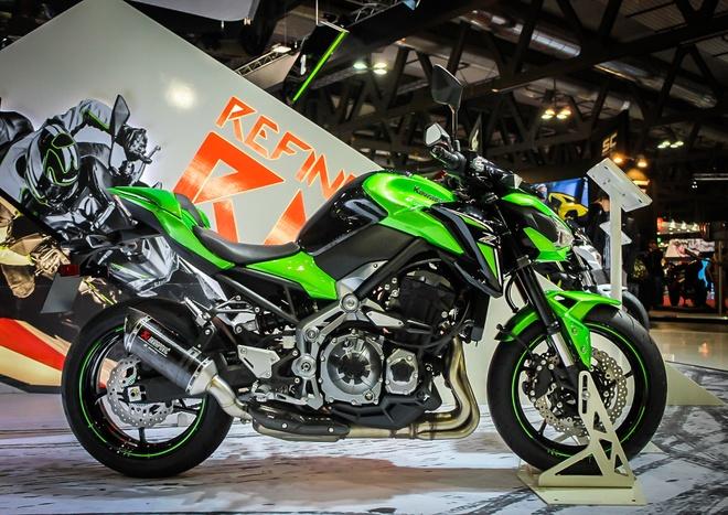 Kawasaki Z900 trinh lang, thay the Z800 hinh anh