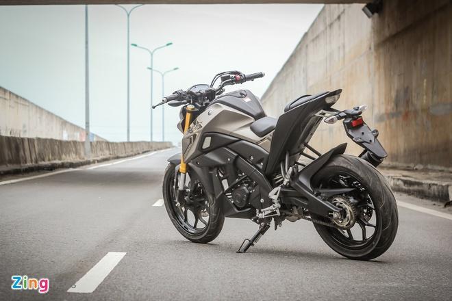 Yamaha TFX 150 naked bike khong doi thu tai Viet Nam hinh anh 4