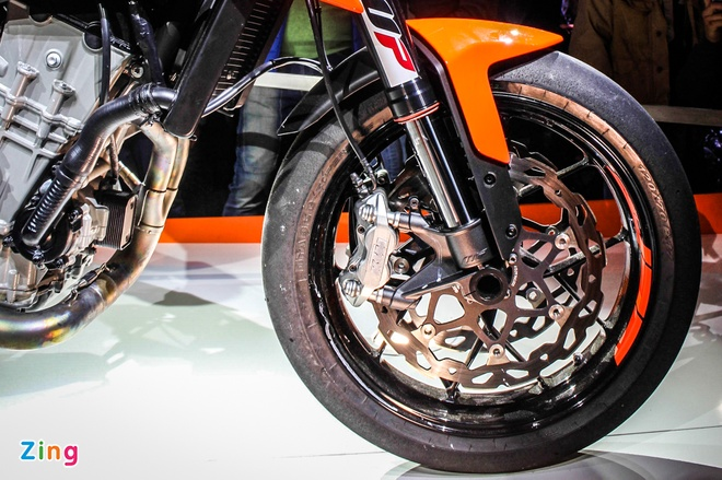 KTM 790 Duke Prototype ra mat tai Italy anh 6