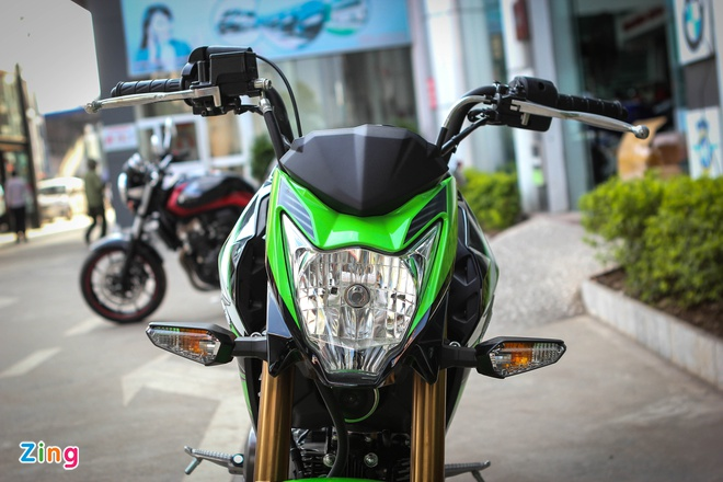 Kawasaki Z125 ban dac biet tai Ha Noi anh 2