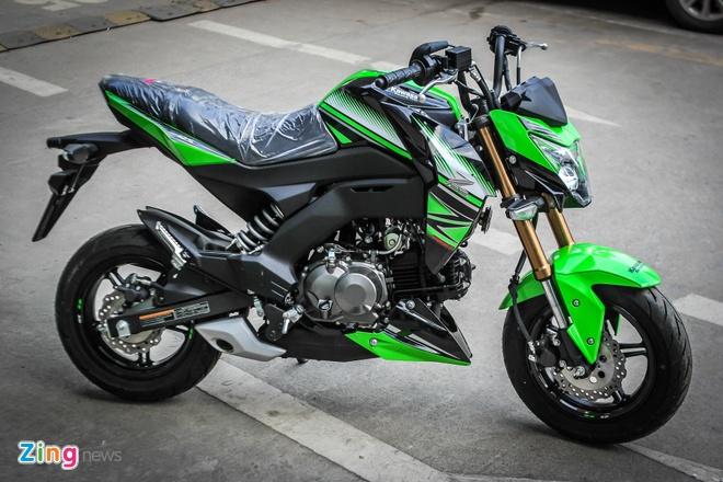 Kawasaki Z125 ban dac biet tai Ha Noi anh 5