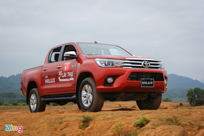 Toyota Hilux 2016 2.8G AT: Van hanh an tuong, cach am tot hinh anh 4