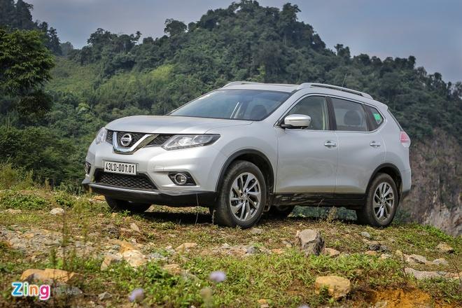 Giam gia sau, Nissan X-Trail lan dau vuot Mazda CX-5 va Honda CR-V hinh anh 2