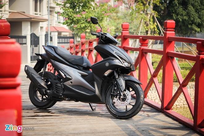 Yamaha NVX - mau xe mang su menh lon hinh anh 1