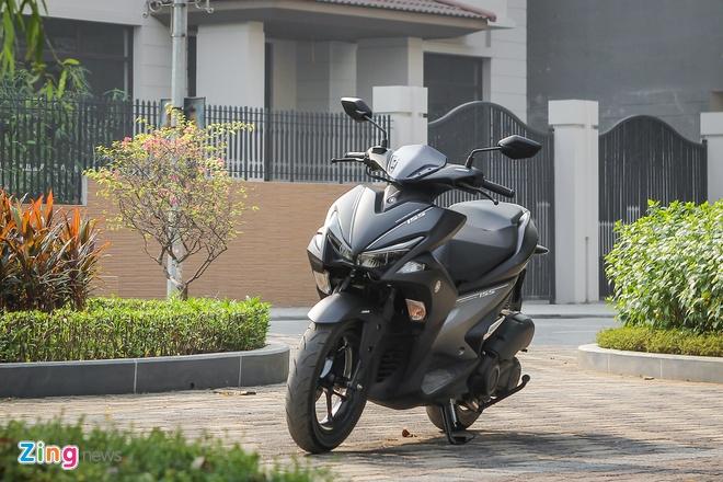 Yamaha NVX - mau xe mang su menh lon hinh anh 2