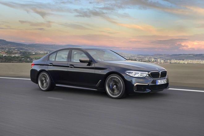 BMW gioi thieu sedan nhanh nhat dong 5-Series hinh anh