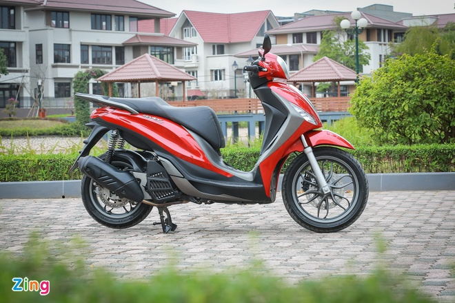 Danh gia Piaggio Medley 150 S ABS anh 2