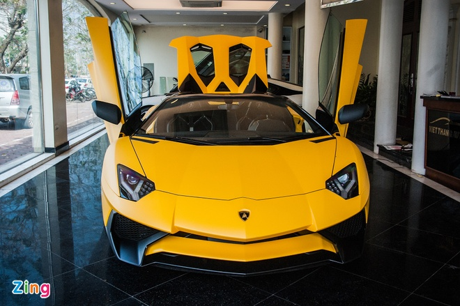 Sieu xe mui tran Lamborghini Aventador Roadster doc nhat VN hinh anh 1