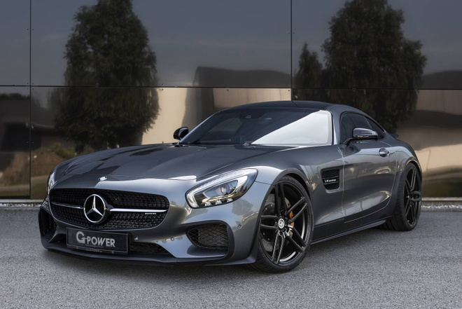 Xe the thao Mercedes-Benz AMG GT S do 610 ma luc hinh anh 1