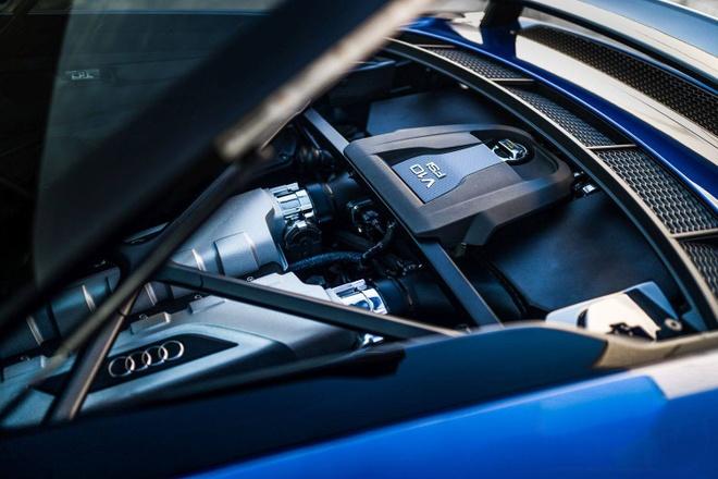 Sieu xe Audi R8 V10 Plus 2017 do cong suat 1.250 ma luc hinh anh 6
