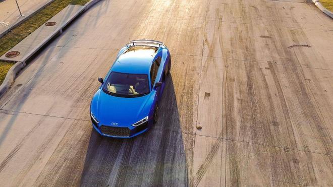 Sieu xe Audi R8 V10 Plus 2017 do cong suat 1.250 ma luc hinh anh 5