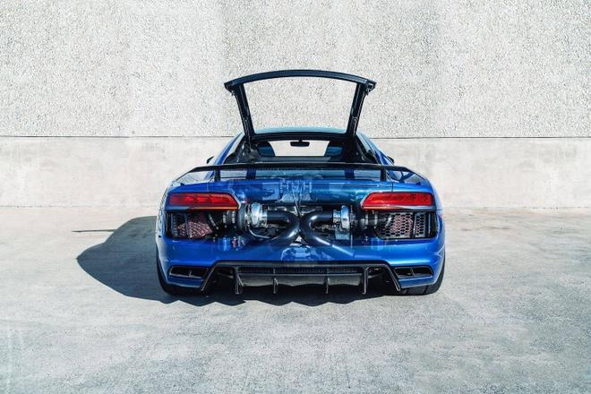Sieu xe Audi R8 V10 Plus 2017 do cong suat 1.250 ma luc hinh anh 4