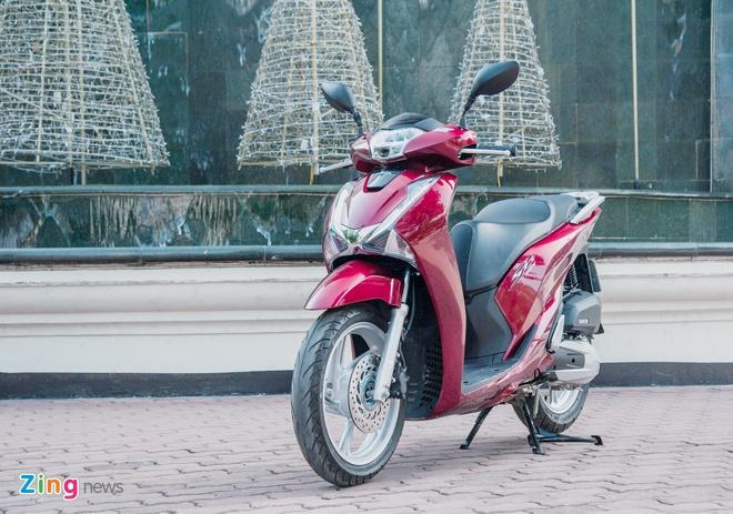 so sanh Honda SH,  Piaggio Medley va Yamaha NVX anh 3