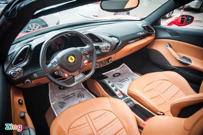 Sieu xe mui tran Ferrari 488 GTB Spider thu 2 ve Viet Nam hinh anh 5