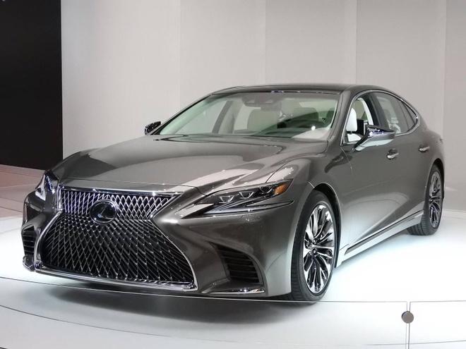 Lexus ra mat dong sedan cao cap LS 2018 hinh anh