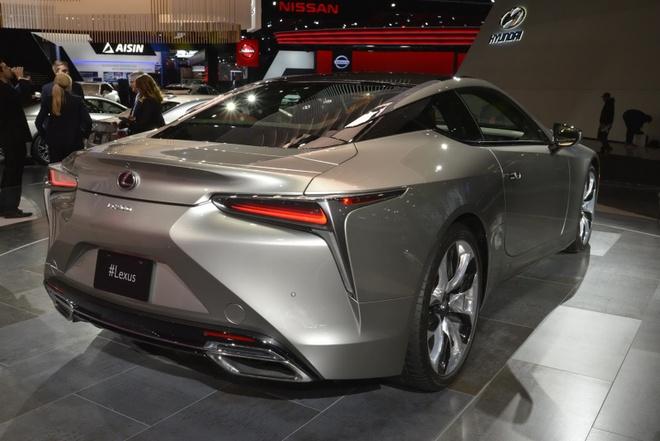 Lexus LC 500 2018 doi thu Mercedes-Benz S-Class Coupe hinh anh 5