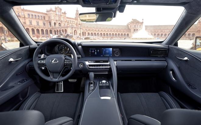 Lexus LC 500 2018 doi thu Mercedes-Benz S-Class Coupe hinh anh 6