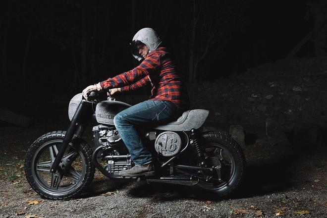 Moto Honda 500 phan khoi voi dan vo lam tu da hinh anh 9