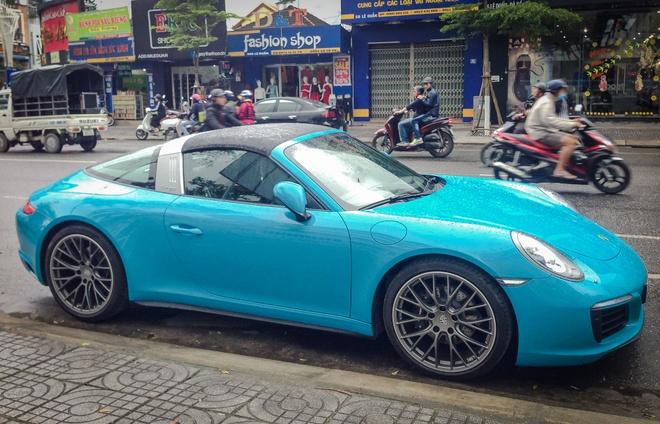 Porsche 911 Targa 4 2016 gia gan 8 ty ve tay dai gia Da Nang hinh anh 5