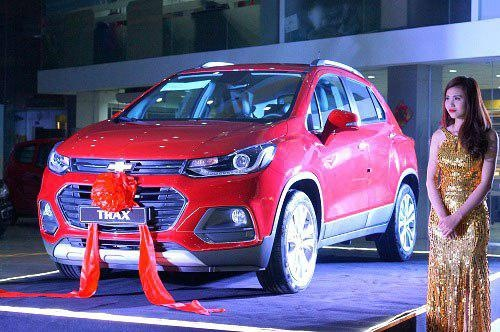 Chevrolet Trax 2017- doi thu moi cua EcoSport tai Viet Nam hinh anh