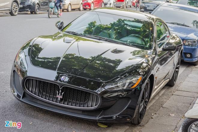 Maserati GranTurismo MC Stradale tai Ha Noi anh 1