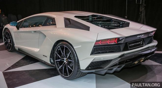 Lamborghini Aventador S ra mat thi truong Dong Nam A hinh anh 1