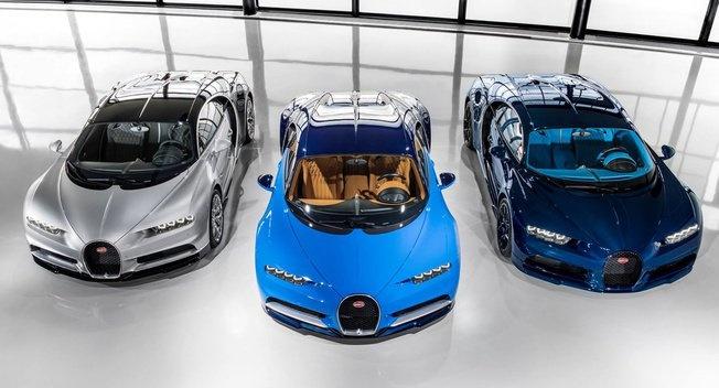 Bugatti bat dau giao nhung sieu pham Chiron dau tien hinh anh