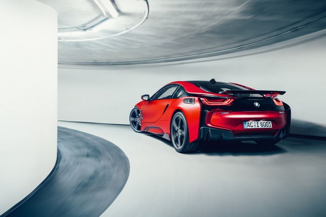 Xe the thao BMW i8 do than xe la lam hinh anh 5