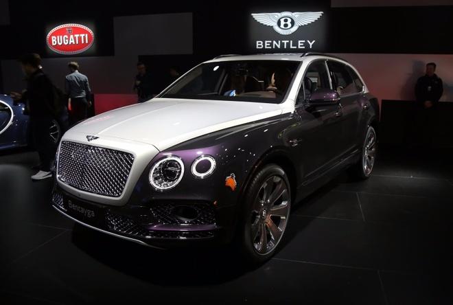 Bentley Bentayga Mulliner – SUV sang trong nhat the gioi hinh anh