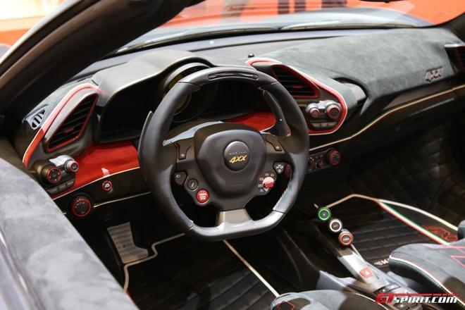 Sieu xe Ferrari do Mansory anh 8