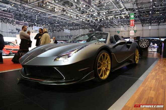 Sieu xe Ferrari do Mansory anh 5