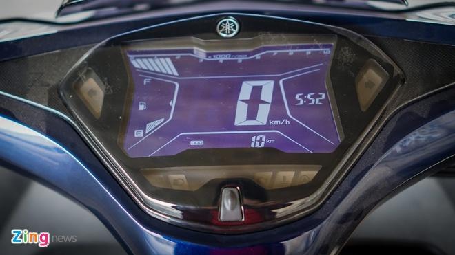 Yamaha NVX 125 tham vong canh tranh Honda Air Blade hinh anh 3