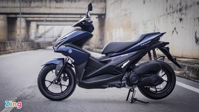 Yamaha NVX 125 tham vong canh tranh Honda Air Blade hinh anh 1