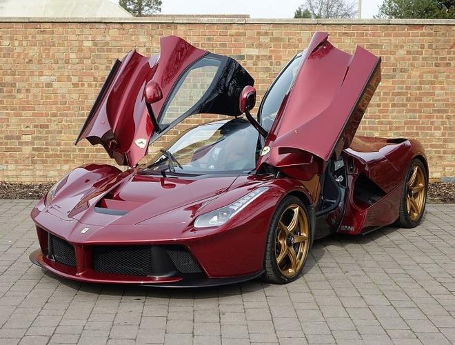 Sieu xe Ferrari LaFerrari cu rao ban gia 3,4 trieu USD hinh anh 7
