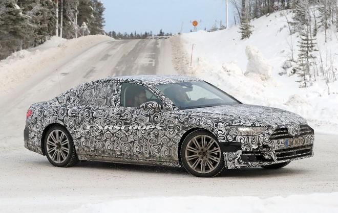 Audi A8 the he moi ra mat thang 7 hinh anh