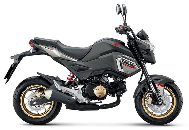 Honda MSX 125SF 2017 them mau son va chong bo cung ABS hinh anh