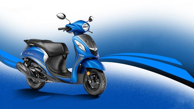 Yamaha trinh lang xe tay ga Fascino 2017 gia 837 USD hinh anh
