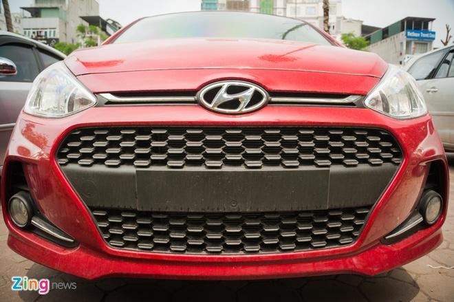 Hyundai Grand i10 2017 lan banh tai Ha Noi hinh anh 3