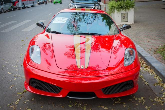 Sieu xe Ferrari F430 Scuderia doc nhat Viet Nam xuong pho hinh anh