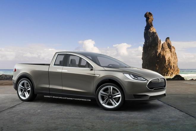 Tesla phat trien xe ban tai chay dien hoan toan hinh anh