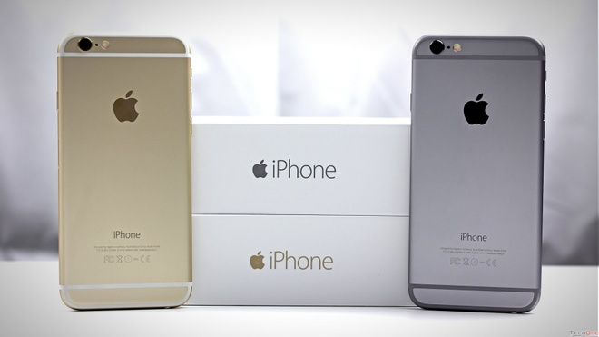 Mua iPhone hang tan trang anh 1