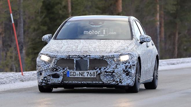 Mercedes-AMG A45 the he moi co cong suat tren 400 ma luc hinh anh