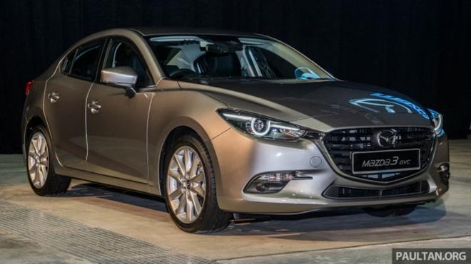 Mazda3 GVC ra mat anh 1