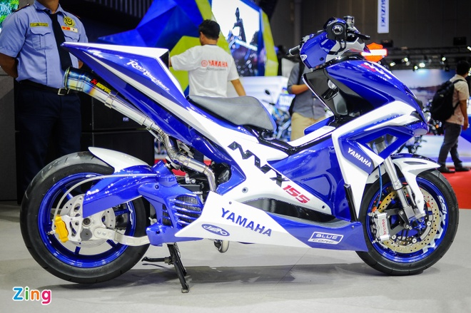 Yamaha NVX do boi tho Philippines tai Viet Nam hinh anh 2
