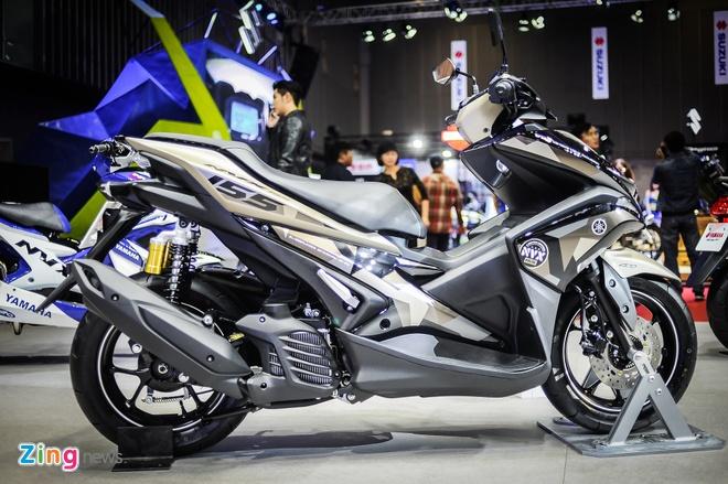 Yamaha NVX 155 ban gioi han ban ra thang 7 hinh anh 1