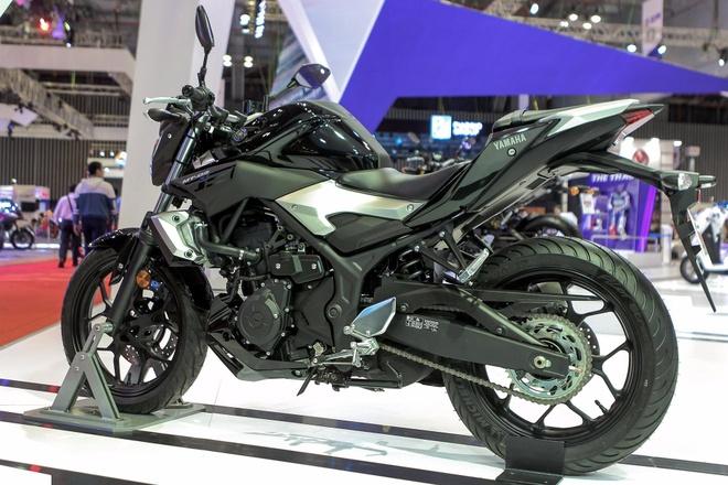Yamaha MT-03 chinh hang gia 139 trieu dong tai Viet Nam hinh anh